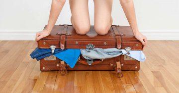 zenski kofer putovanje letovanje pakovanje moda