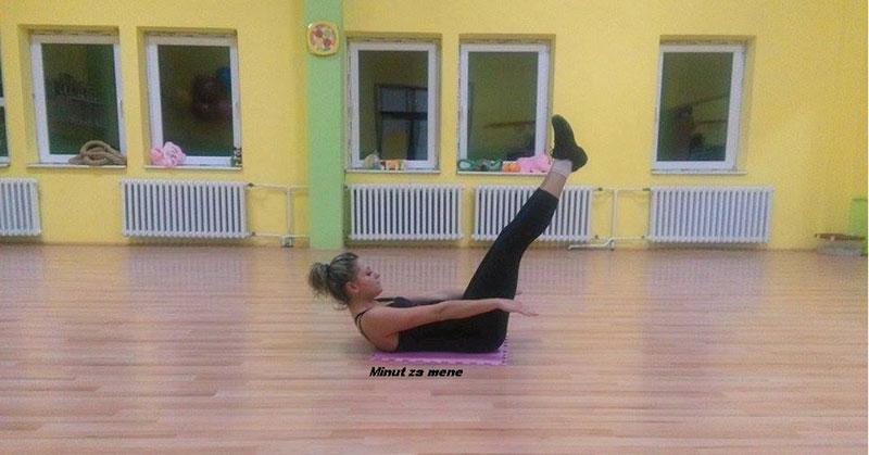 Tibetanske vežbe - druga vežba