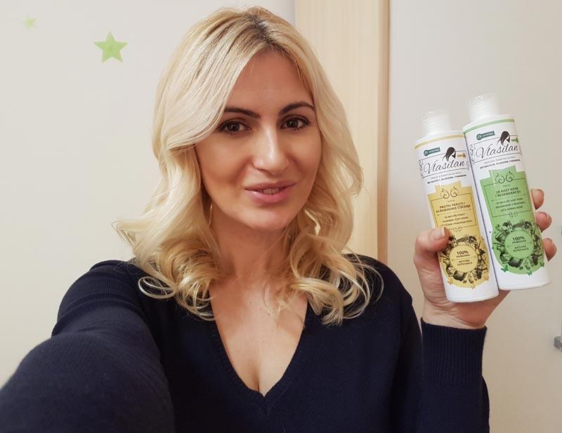 Vlasilan šampon bez sulfata