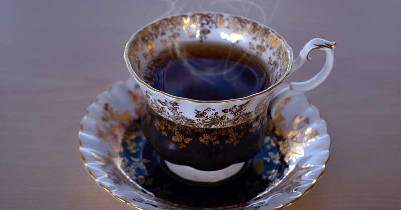 crna zova čaj