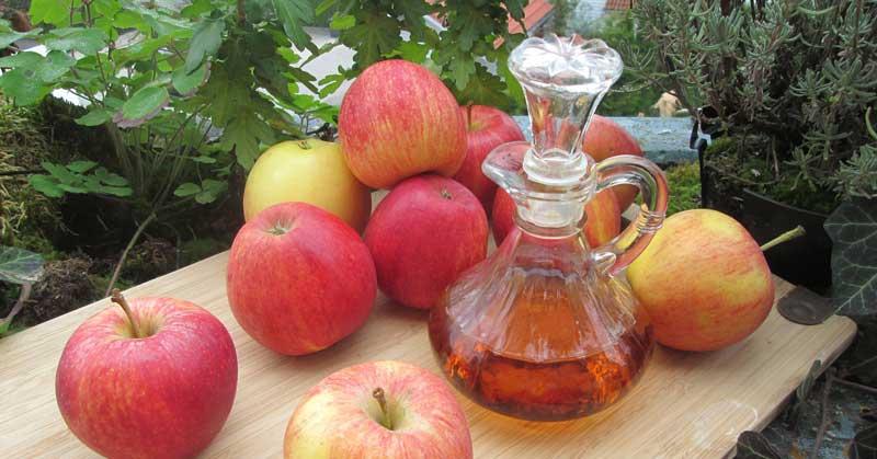 jabukovo sirće protiv peruti