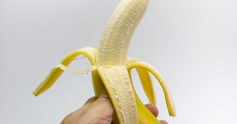 kora od banane za lice