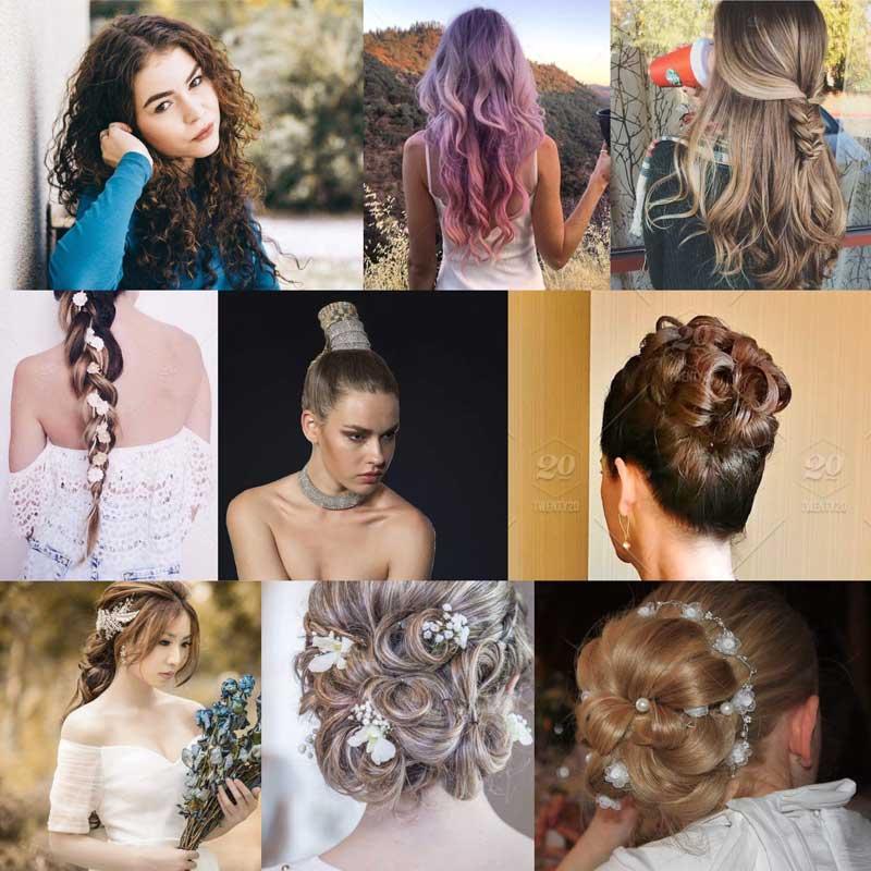 svečane frizure za dugu kosu