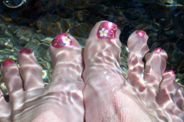 Estetski pedikir stopala
