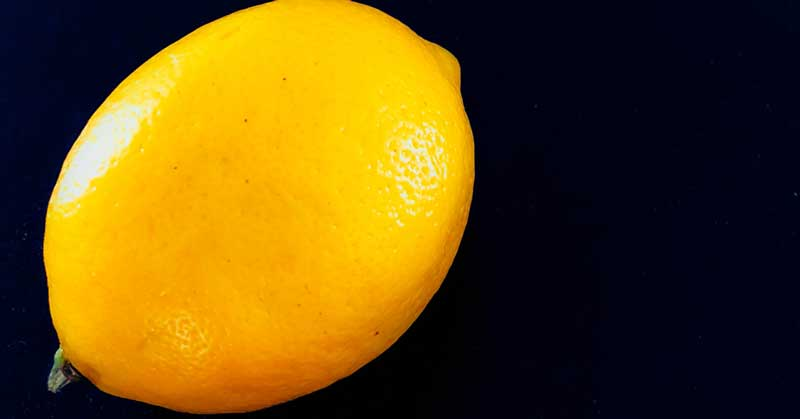 maska za masno lice od limuna