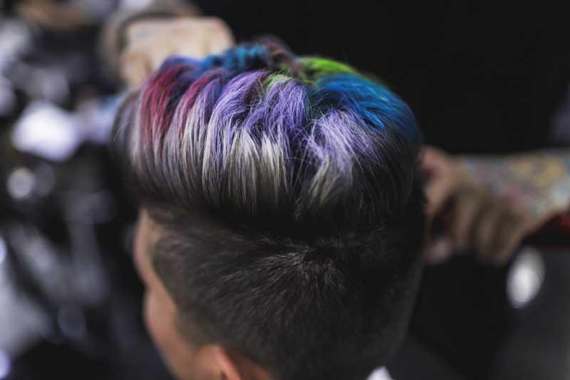 kolor šampon za muškarce