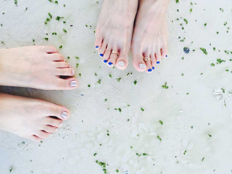 sređivanje noktiju na nogama