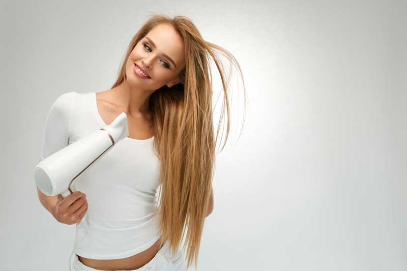 ravna kosa bez peglanja