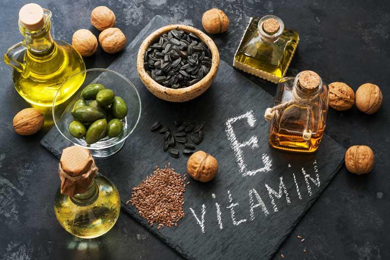 hrana bogata vitaminom E za kosu