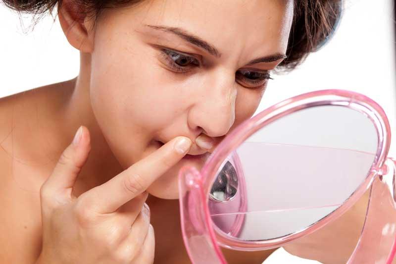bubuljice oko usana i nosa