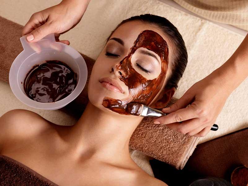 čokoladna maska za lice