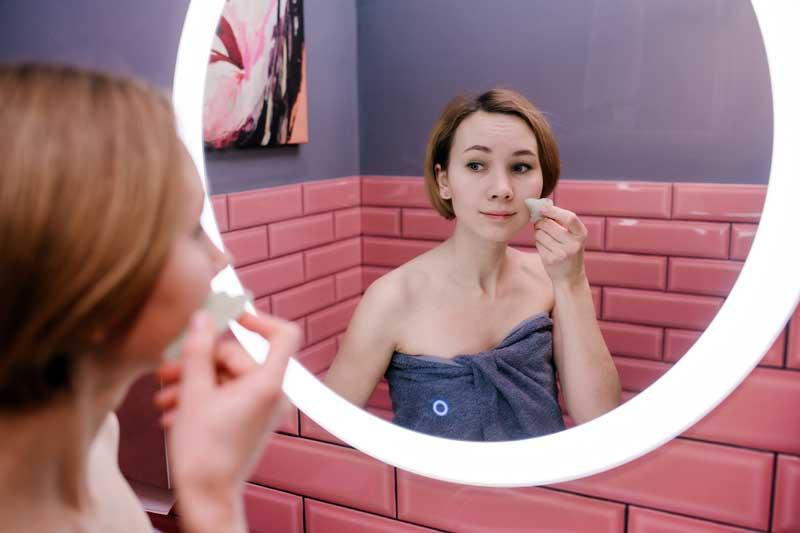 gua sha masaža lica kod kuće