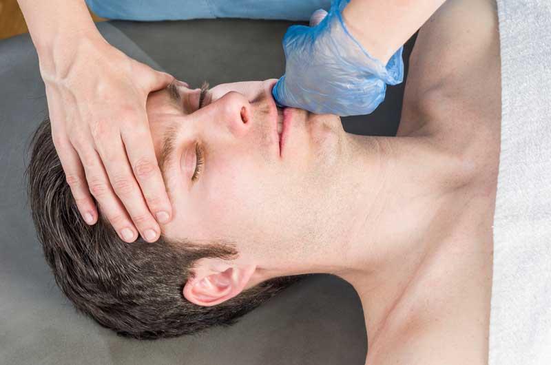 intraoralna masaža