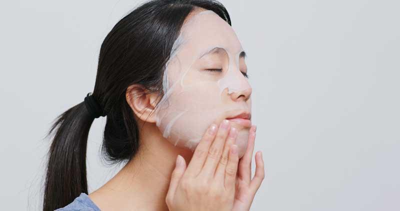 korejska maska za lice