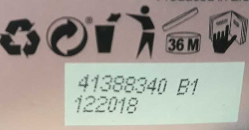 oznake za rok trajanja na ambalaži