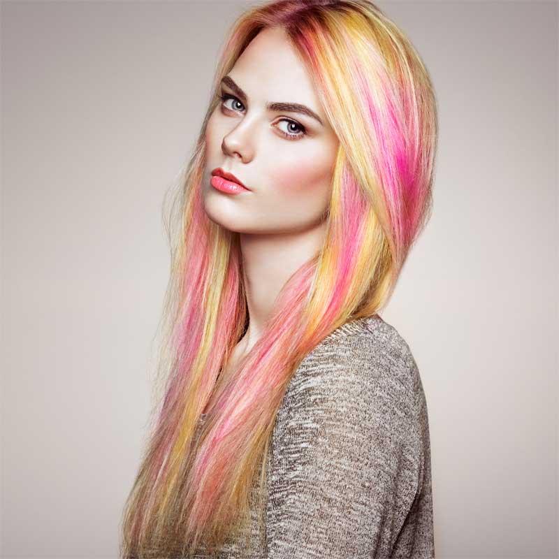 maskara za kosu u boji