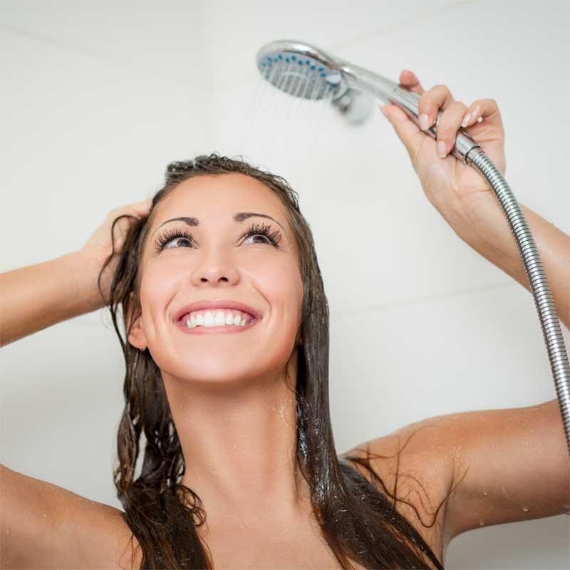 pranje kose tvrdom vodom
