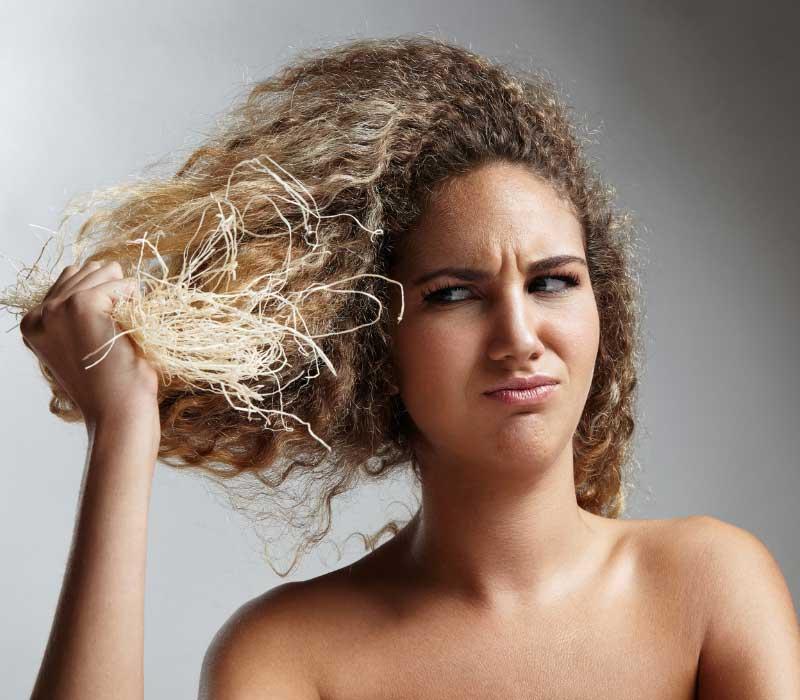 hemijsko šišanje kose simptomi