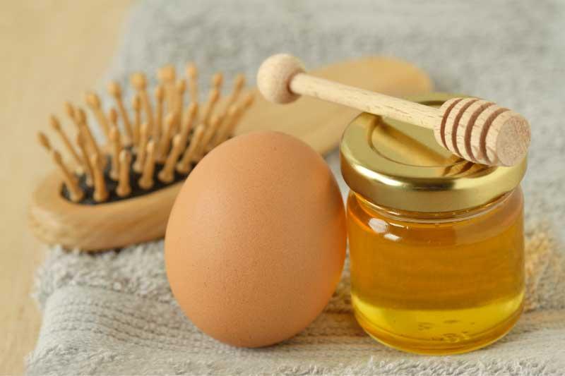 maska od meda za kosu