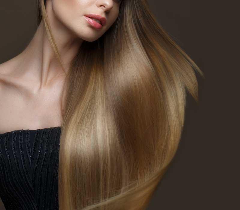 kosa koja sjaji
