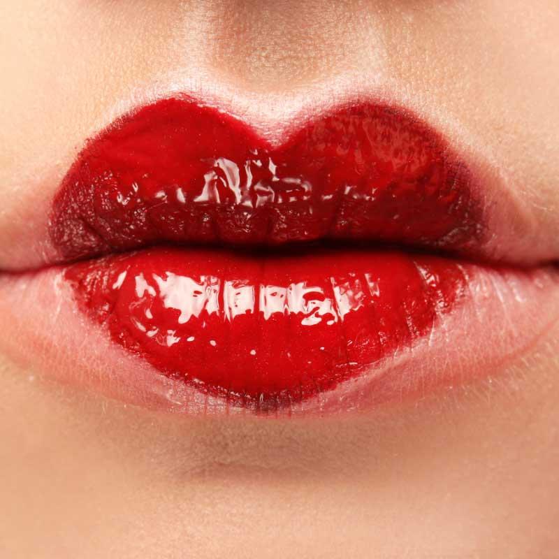 russian lips tehnika