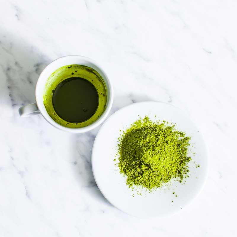 maska sa zelenim čajem za kosu