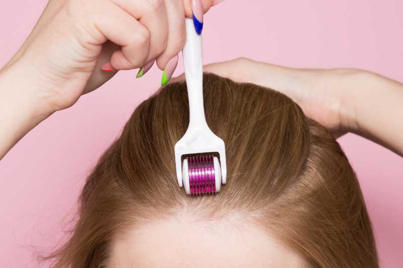 dermaroler za kosu upotreba