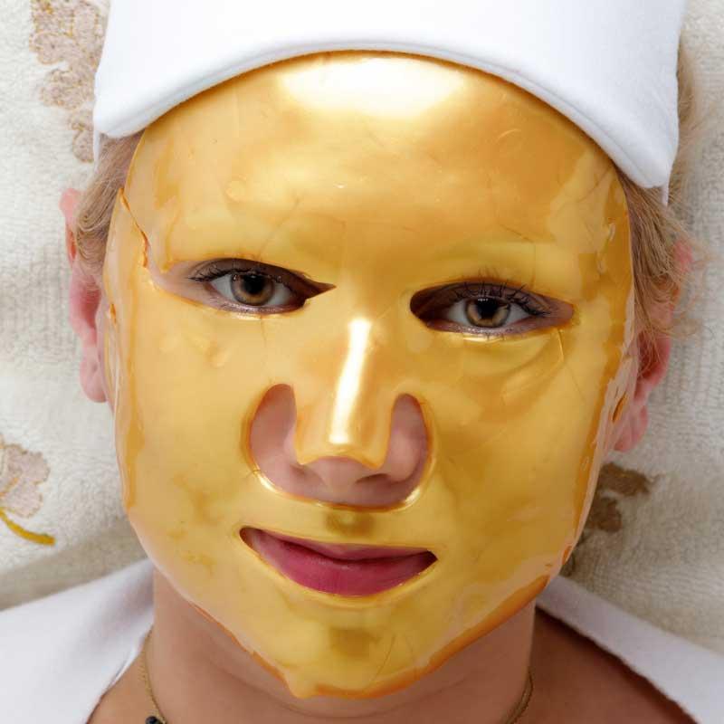 zlatna kolagen maska