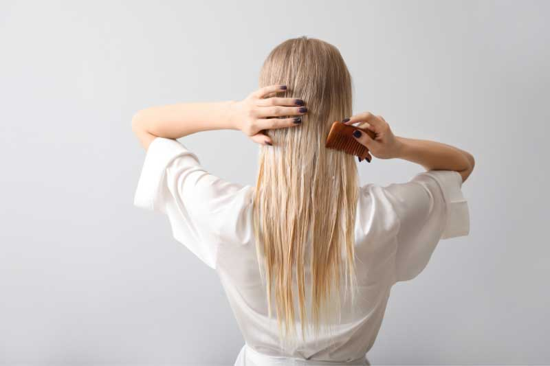 maska za ispucale krajeve kose