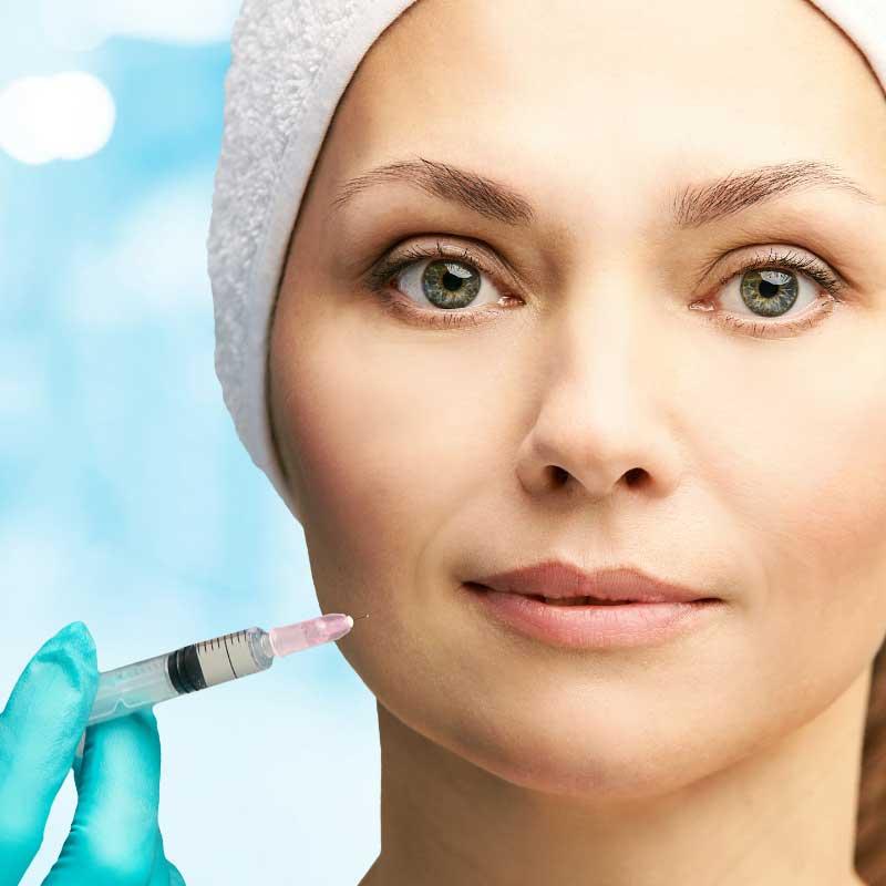 mezoterapija kože lica
