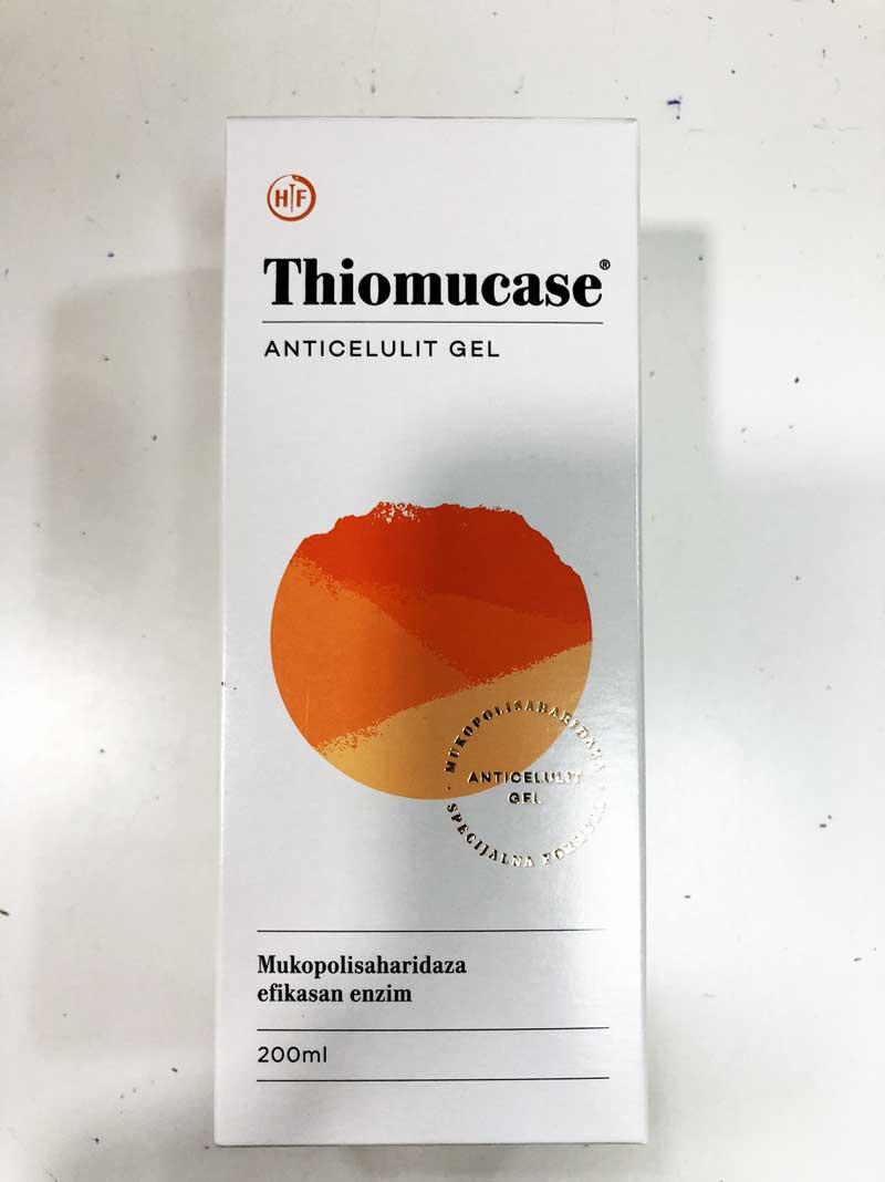 thiomucase anticelulit gel