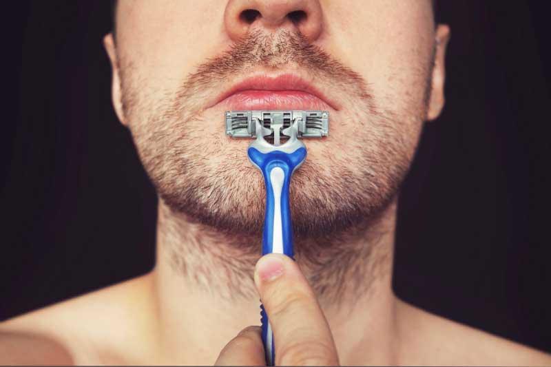 akne posle brijanja