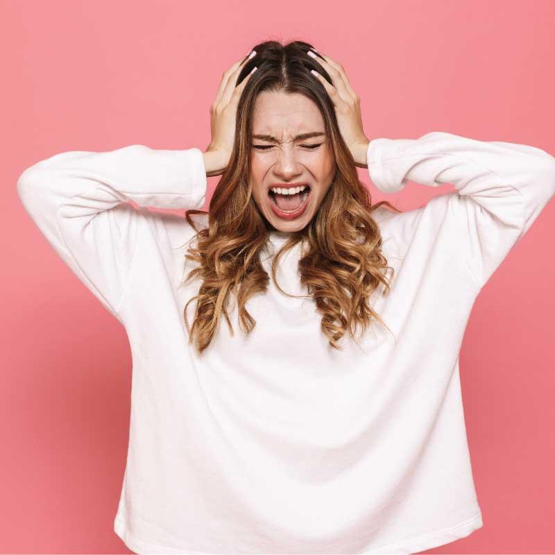 opadanje kose od stresa kod žena