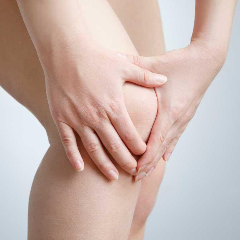 celulit iznad kolena