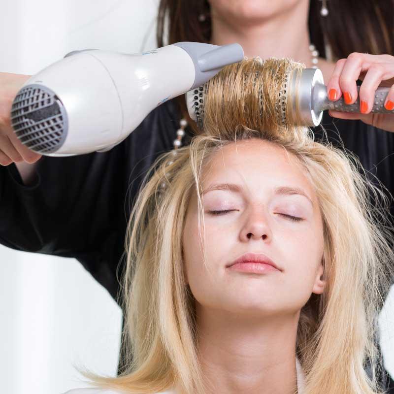 feniranje za volumen kose