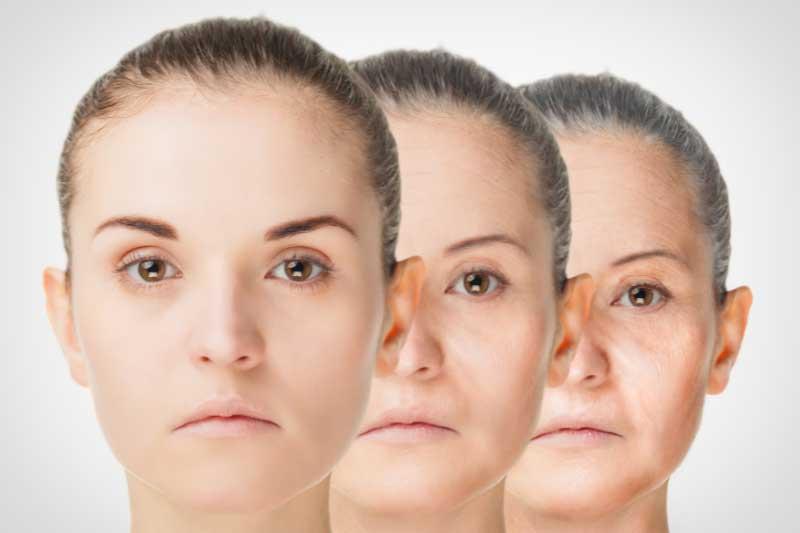 faze starenja lica