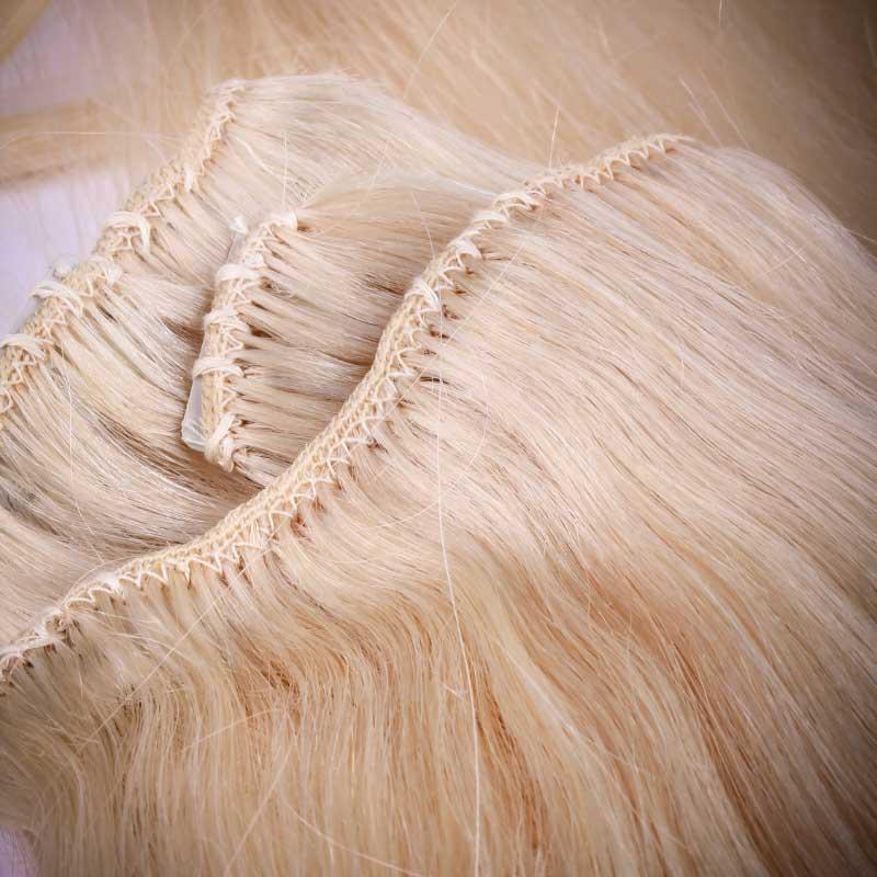 nadogradnja kose šivenjem